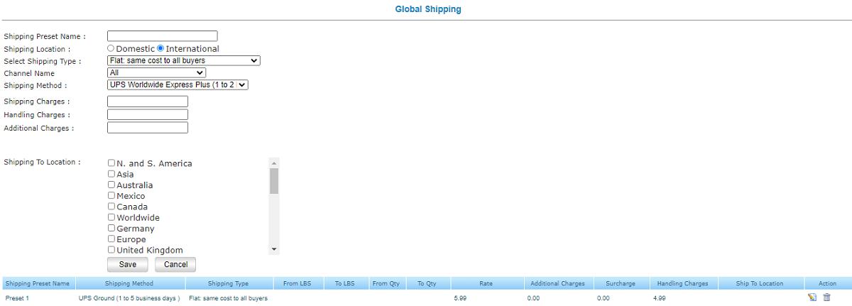 Flexible Shipping Options
