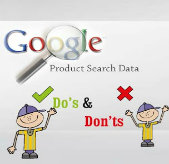 Google Product Search Data – Do's and Don'ts