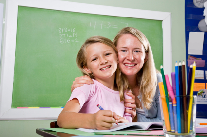 Doting Teacher and Student